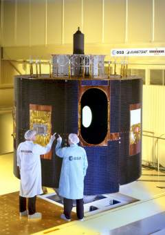 MSG-1 in its cleanroom